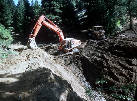 開採石材-炸山毀林